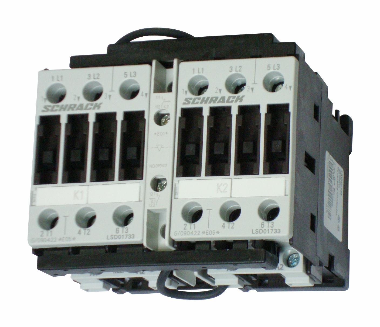 1 Stk Wendeschützkombination, 7,5kW, 17A AC3, 230VAC, 0 LSW01733--