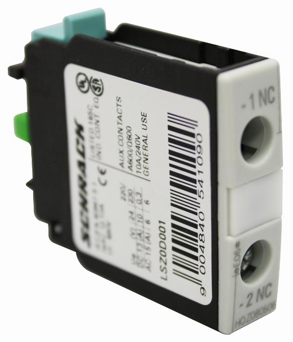 1 Stk Hilfsschalter 1-polig 1 Öffner, für Baugröße 0-12 LSZ0D001--