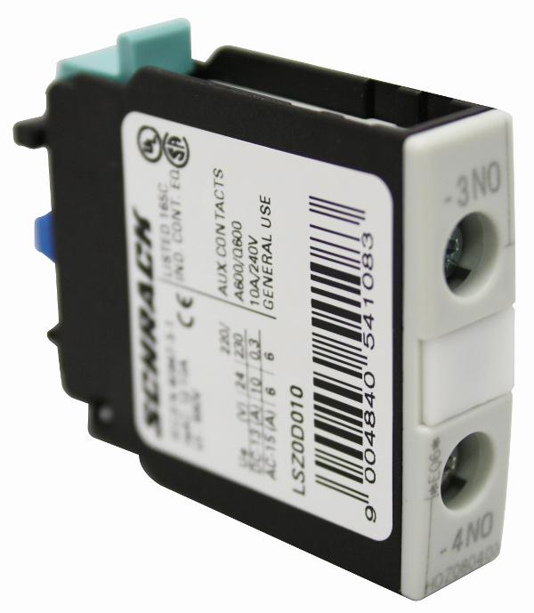 1 Stk Hilfsschalter 1-polig 1 Schließer, Baugröße 0-12 LSZ0D010--