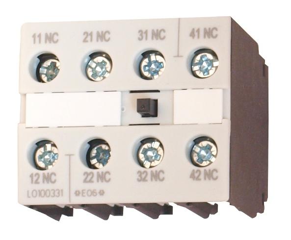 1 Stk Hilfsschalter 4-polig 4 Öffner, 0-12 LSZ0D104F-