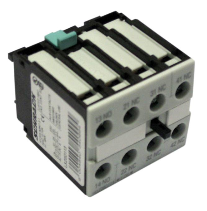 1 Stk Hilfsschalter 4-polig 1 Schließer + 3 Öffner, 0-12 LSZ0D113--