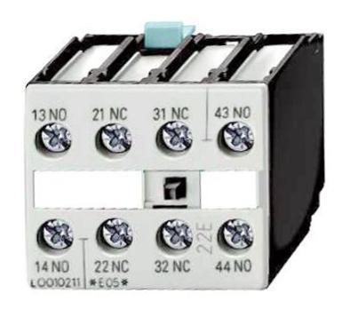 1 Stk Hilfsschalter 4-polig 2 S + 2 Ö, 0-12 DIN 50012 LSZ0D122--