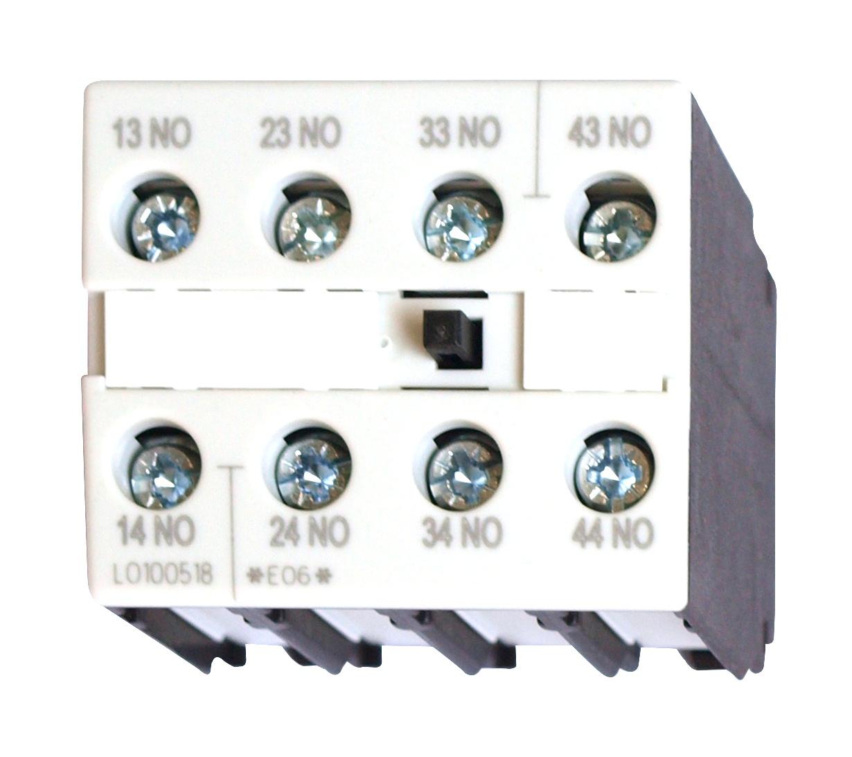 1 Stk Hilfsschalter 4-polig 4 Schließer, 0-12 LSZ0D140F-