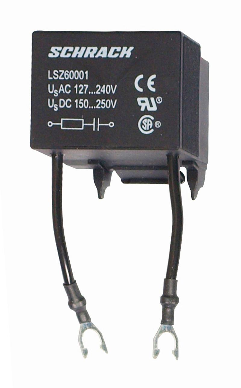 1 Stk RC-Glied 127-240VAC 150-250VDC, für 6 LSZ60001--