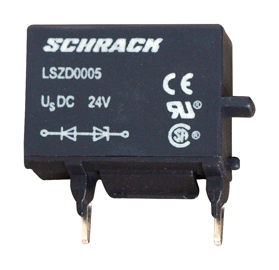 1 Stk Diodenkombination für Schütze 0, 24VDC, Anbau oben LSZD0005--