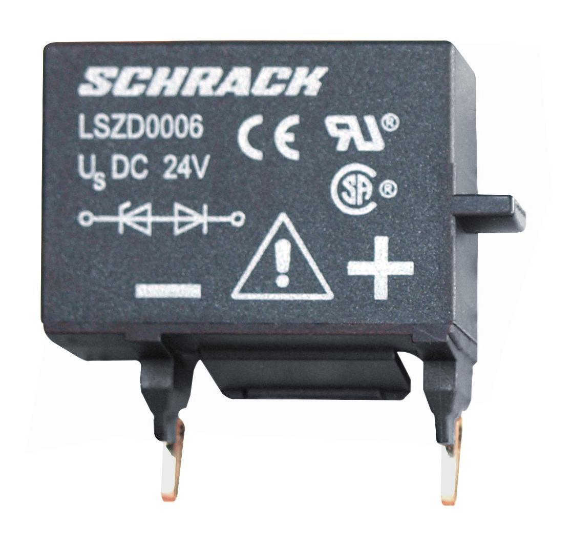 1 Stk Diodenkombination für Schütze 0, 24VDC, Anbau unten LSZD0006--