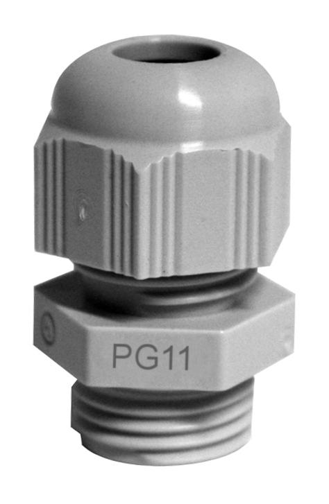 1 Stk Anbauverschraubung PG11 grau M272808--A