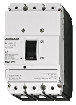1 Stk Lasttrenner, 3-polig 100A fernauslösbar MC110035--