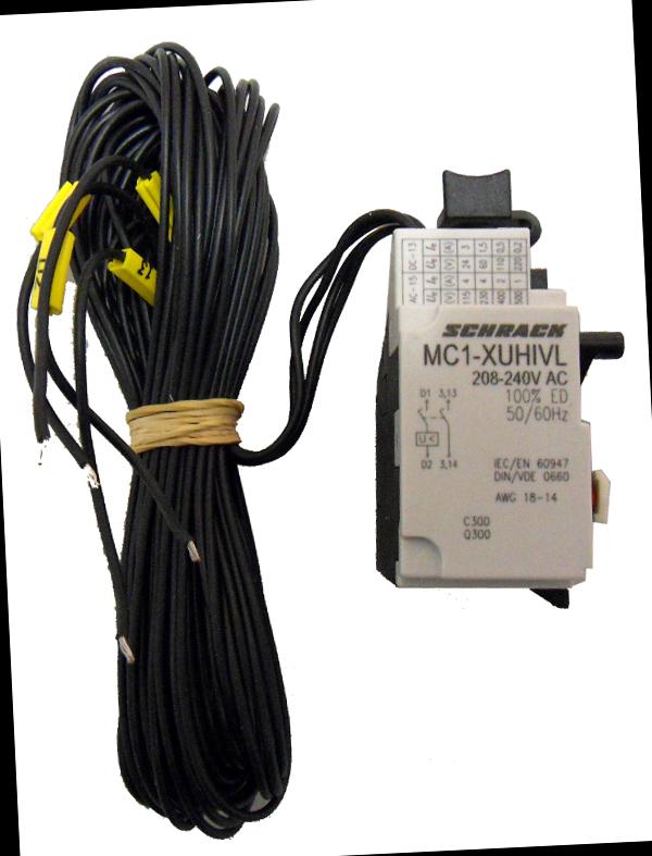 1 Stk Unterspannungsauslöser 208-240VAC zu MC1 + 2 Hilfskontakte MC199565--