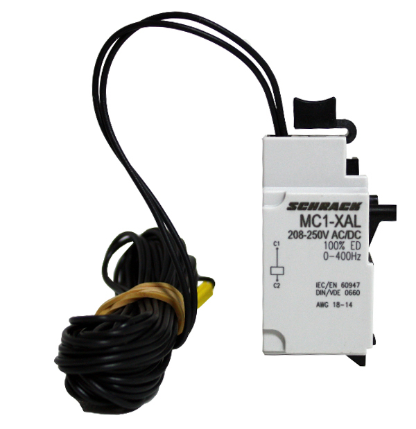 1 Stk Arbeitsstromauslöser 24VAC/DC + 3m Kabel zu MC1 MC199736--