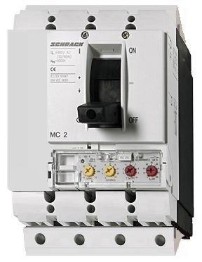 1 Stk Leistungsschalter Type VE, 4-polig, 50kA 100A, steckbar MC210243S-