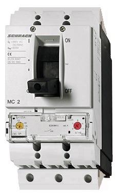 1 Stk Leistungsschalter Type A, 3-polig, 150kA, 100A, steckbar MC210331S-
