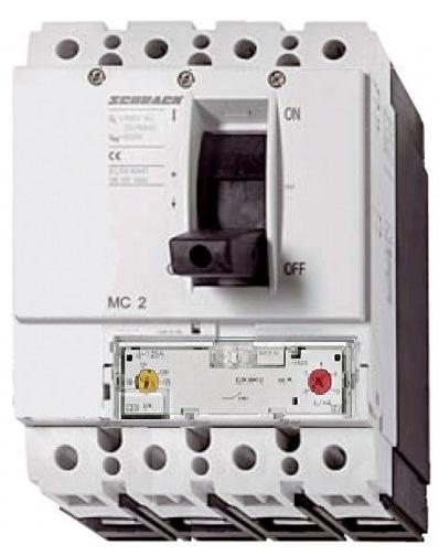 1 Stk Leistungsschalter Type A, 4-polig, 50kA, 125A MC212241--