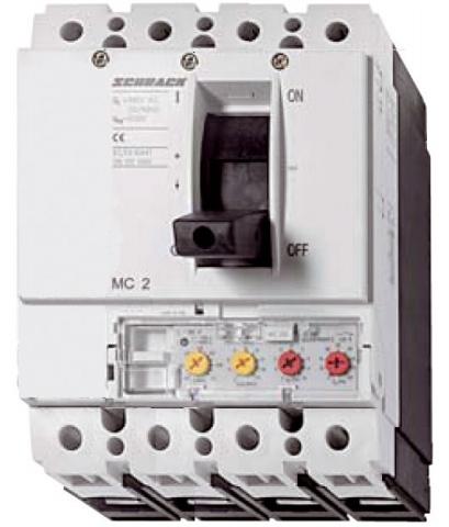 1 Stk Leistungsschalter Type VE, 4-polig, 50kA, 160A/100A MC216243R-