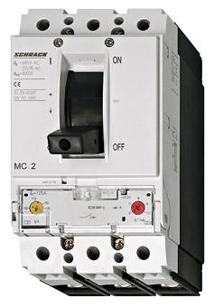 1 Stk Leistungsschalter Type A, 3-polig, 50kA, 300A MC230231--
