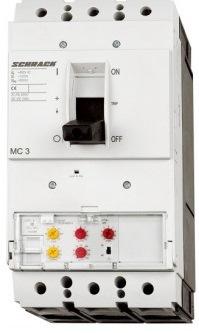 1 Stk Leistungsschalter Type VE, 3-polig, 50kA, 400A MC340233--