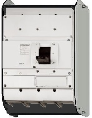 1 Stk Lasttrenner, 4-polig, 1000A, fernauslösbar, ausfahrbar MC410045A-