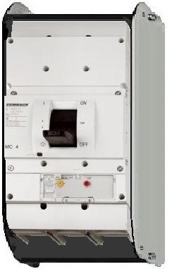 1 Stk Leistungsschalter Type AE, 3-polig, 50kA, 630A, ausfahrbar MC463232A-