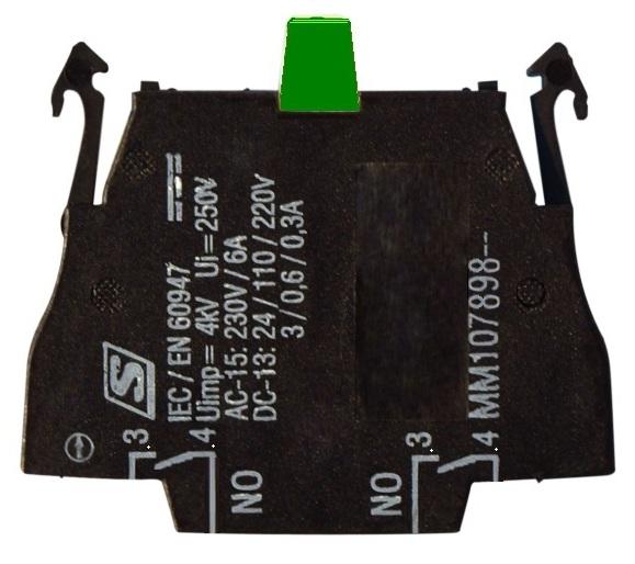 1 Stk Schliesser-Doppel Kontakt MM107898--
