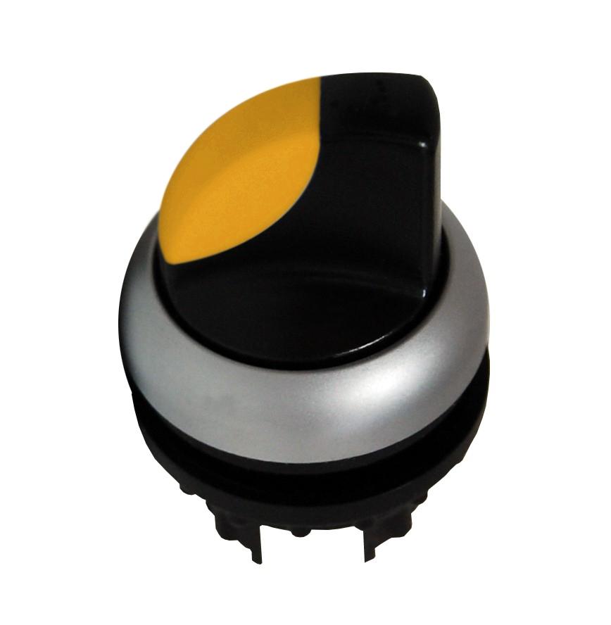 1 Stk Leuchtknebel 2 Stellungen rastend gelb MM216829--