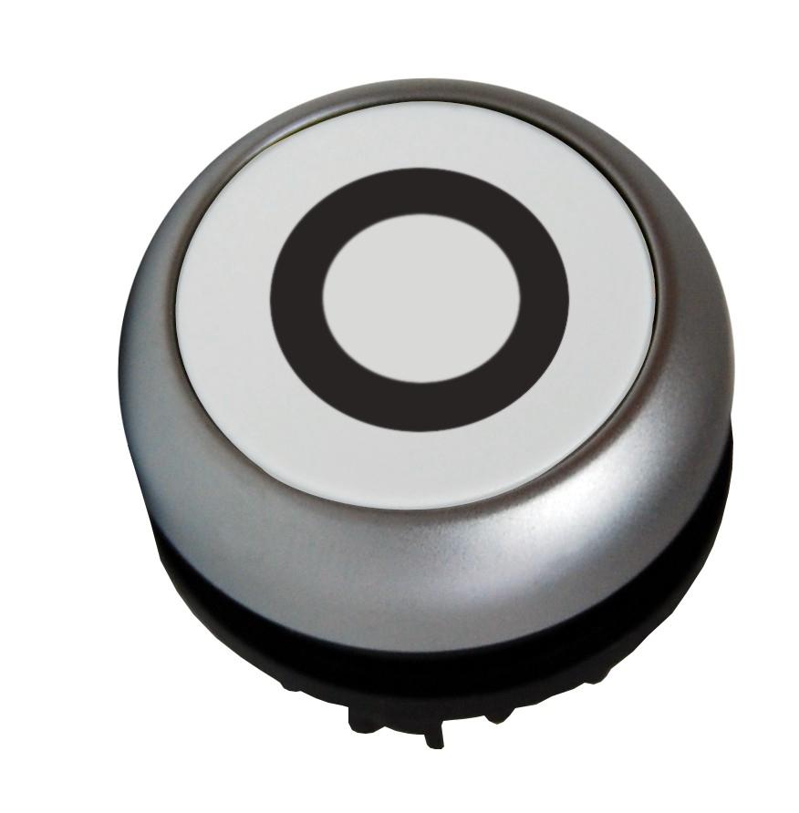 1 Stk Leuchtdrucktaste flach tastend weiss 0 MM216940--