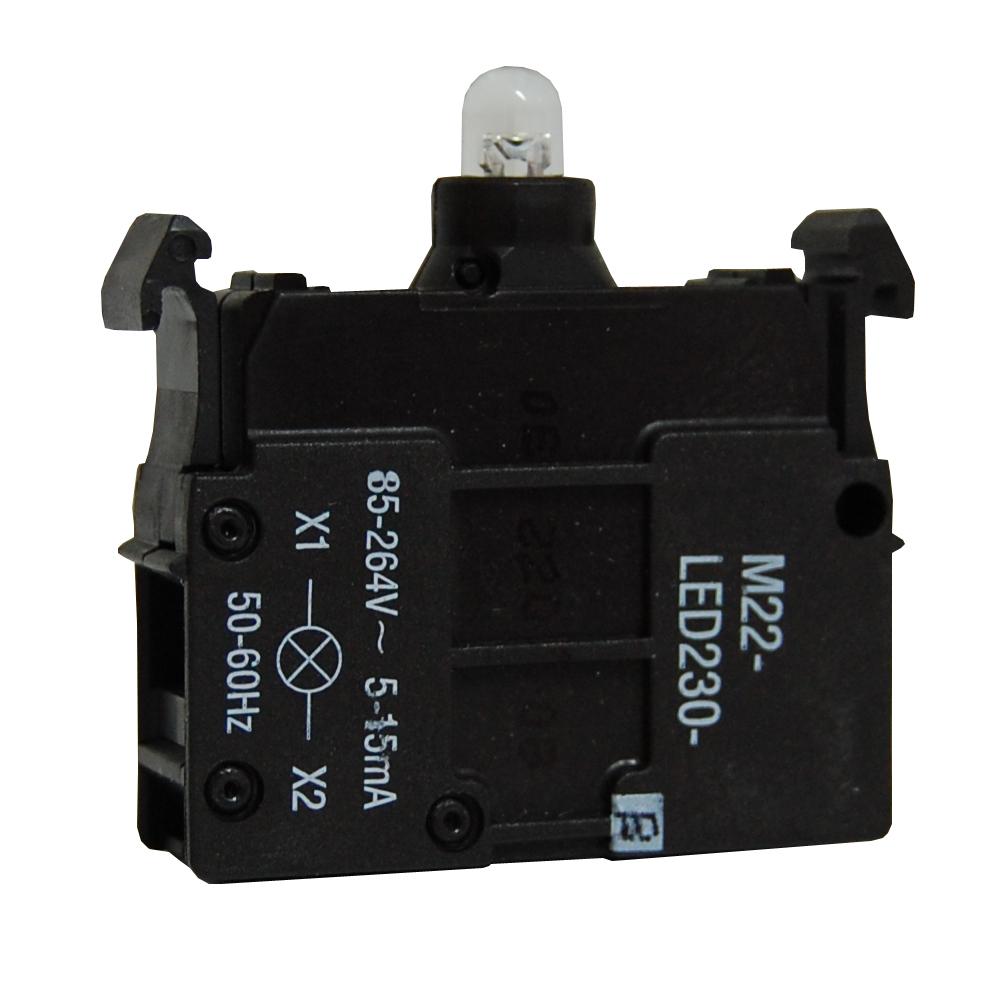 1 Stk LED 12-30V ACDC blau Boden MM218058--