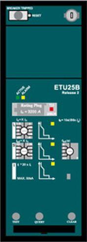 1 Stk Auslöseelektronik LSI (ETU25), eingebaut MO890250--