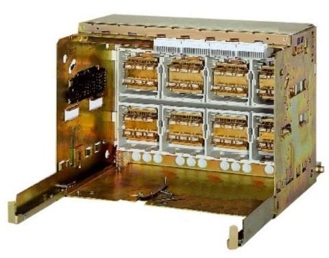 1 Stk Einschubrahmen 4-polig 1000A horiz., 4 Steuerstecker, BGr.1 MO901BC4--