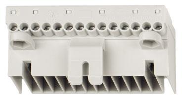 1 Stk Hilfsstromstecker Schraubanschluß für Rahmen und Schalter MO90AB03--