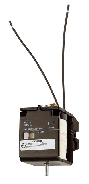 1 Stk Spannungsauslöser 24VDC, Einzelteil MO90AD01--