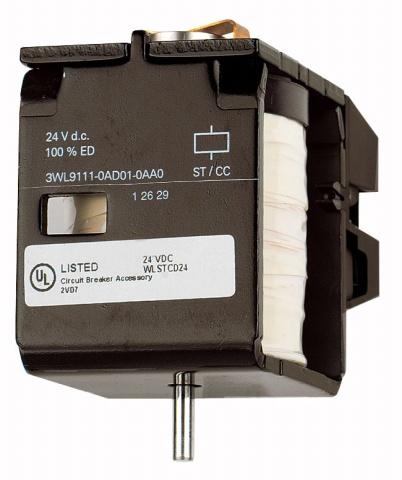 1 Stk Unterspannungsauslöser 24VDC, Einzelteil MO90AE01--
