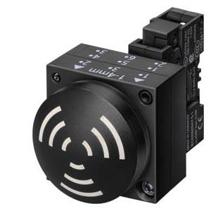 1 Stk Akustikmelder Dauerton 2,4 kHz, komplett, 24VAC/DC, IP65 MSA10005--