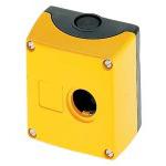 1 Stk Aufbaugehäuse 1-Loch, schwarz/gelb MSG13000--