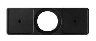 1 Stk Schildträger für Joystick, 2 Schilder horizontal MSJT2720H-