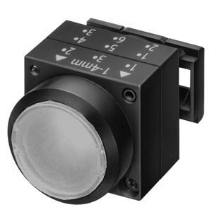 1 Stk Leuchtdrucktaste rastend, transparent MSL17000R-