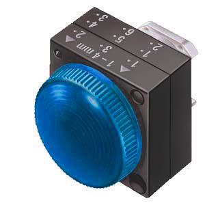 1 Stk Leuchtmelder blau MSM15000--