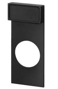 1 Stk Schildträger für Doppeldrucktaster Klebe-Schild 12,5x27mm MSZT122070