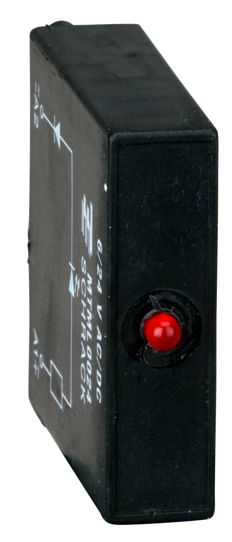 1 Stk MT-Schutzmodul LED rot 24V DC/AC für Relaissockel MT78740 MTML0024--