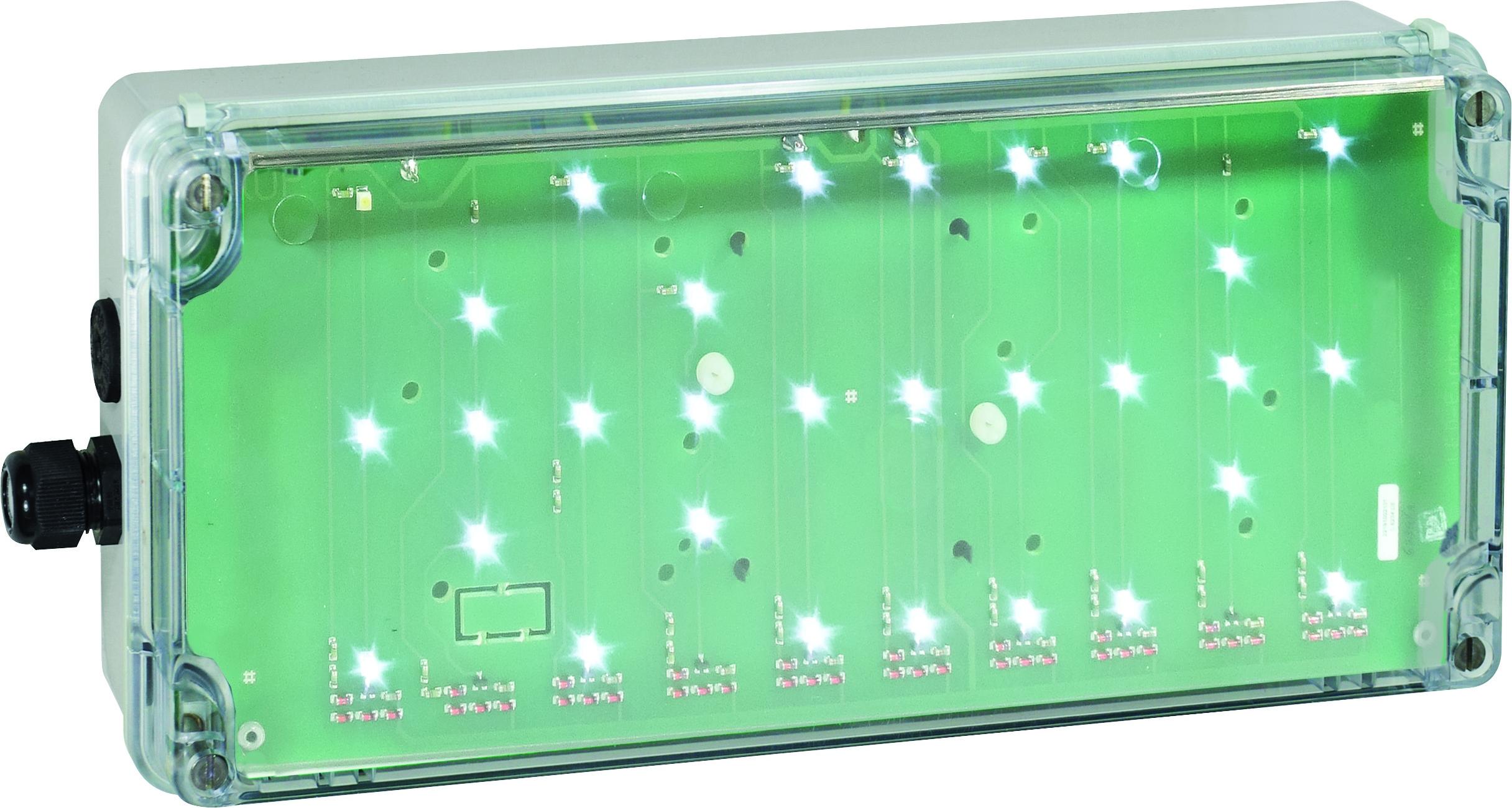 1 Stk Ex-Notleuchte EXIT Zone 2/22 LED 230 VAC/DC, transparent NL93000004