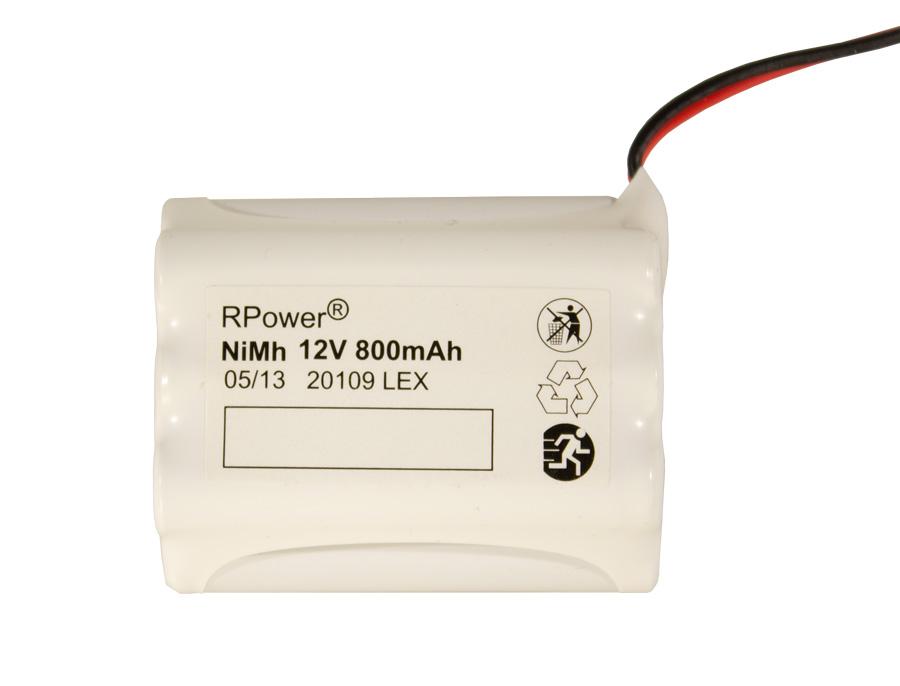 1 Stk Akku 12V 0,8Ah für EB-Leuten BusControl, WirelessControl NLAKKU1208