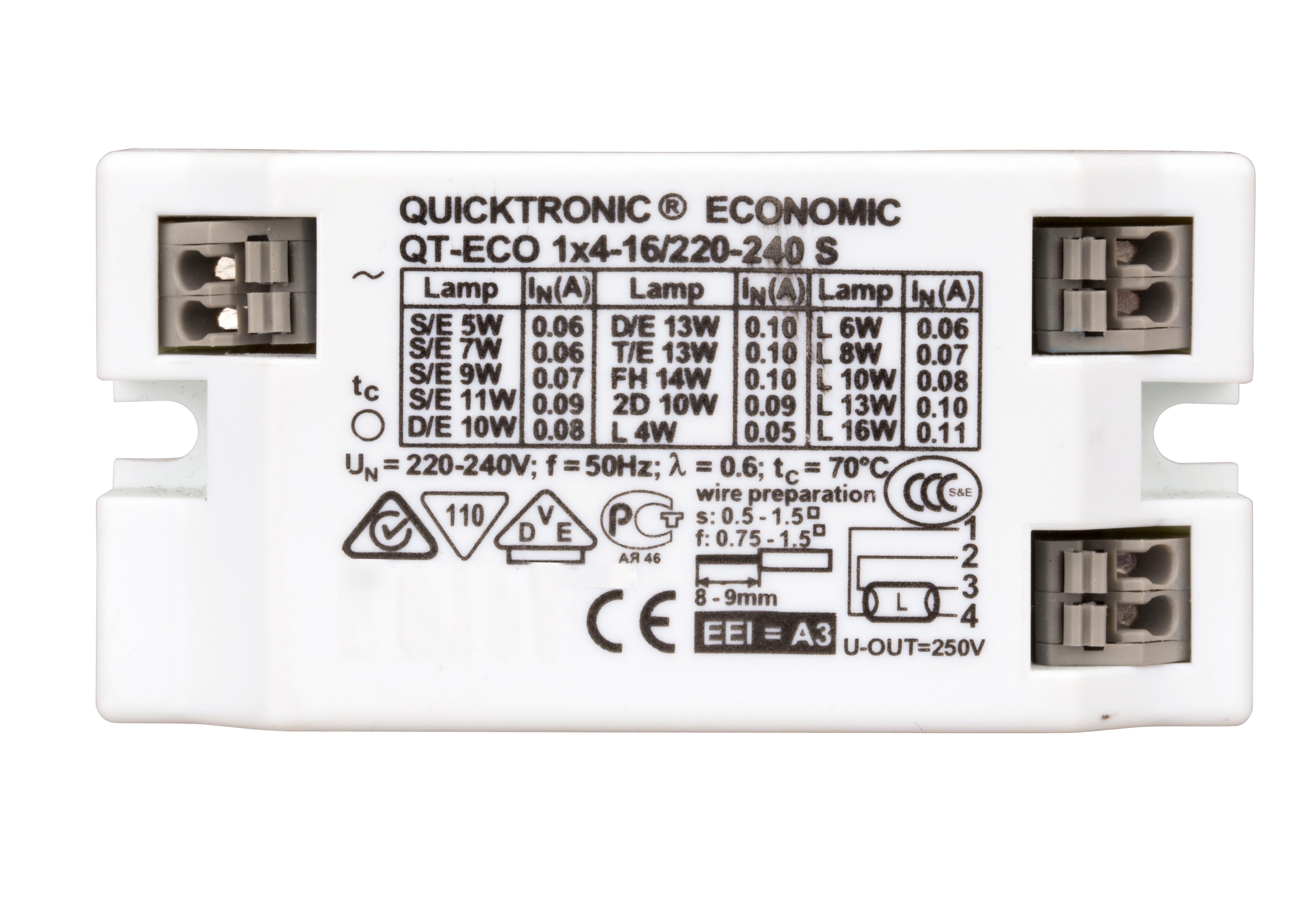 1 Stk EVG 6,5-16W / 230V AC/DC NLIEB104--
