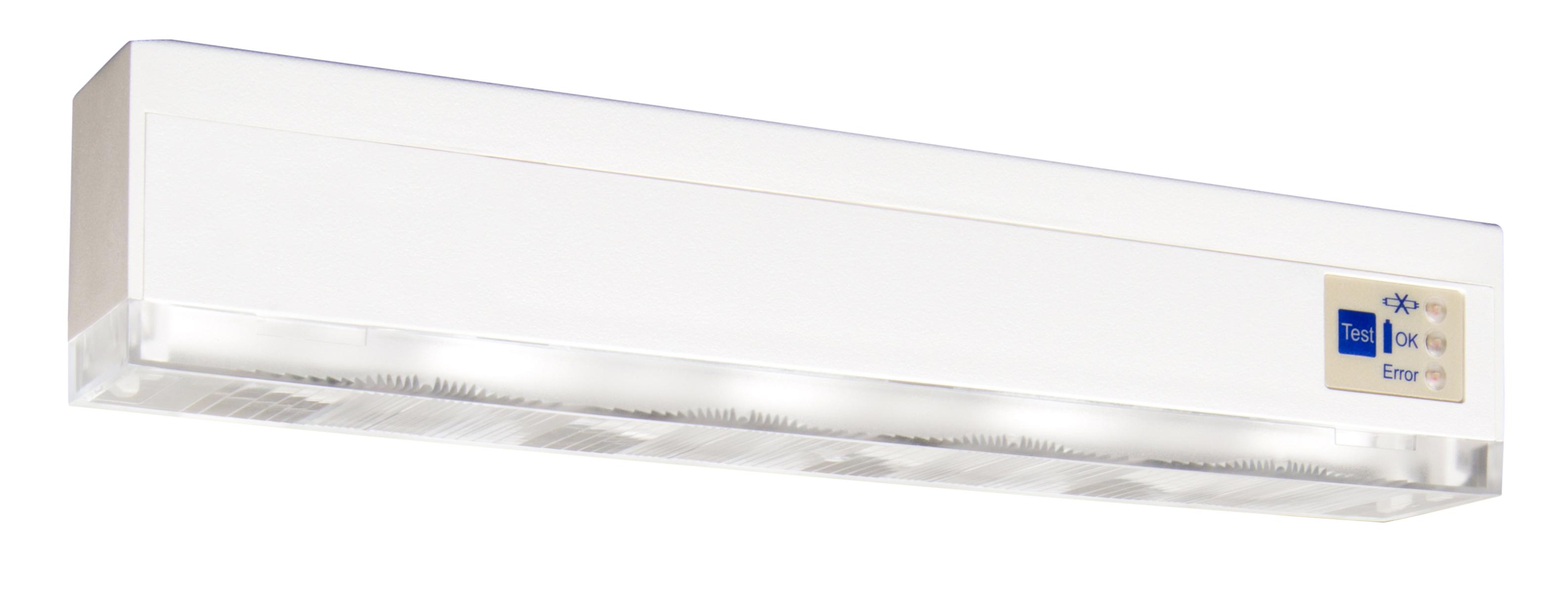 1 Stk Notleuchte KMB Autotest LED 1h/3h/8h 230VAC Universalmontage NLKMB003SC