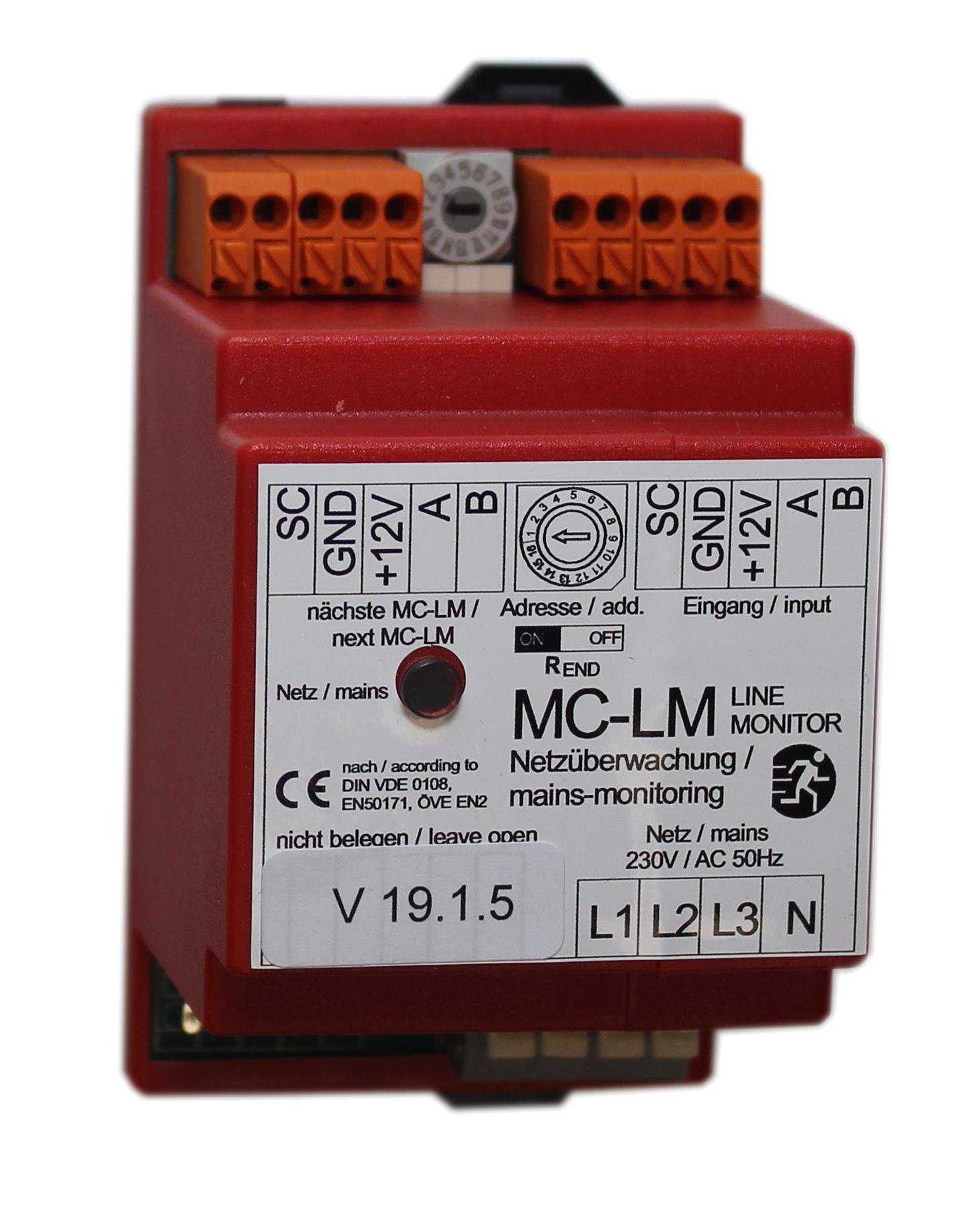 1 Stk 3-Phasen Netzüberwachung mit Busanbindung für Multicontrol NLMCLM----