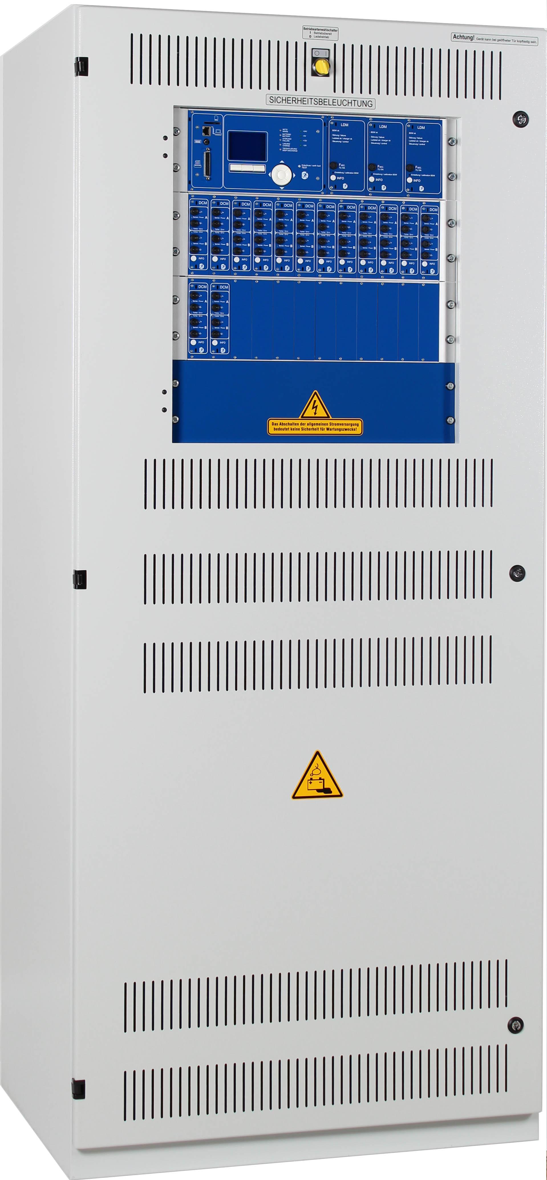 1 Stk Zentralbatterieanlage MaxiControl, 48/10A, ohne DCM  NLMCX448--