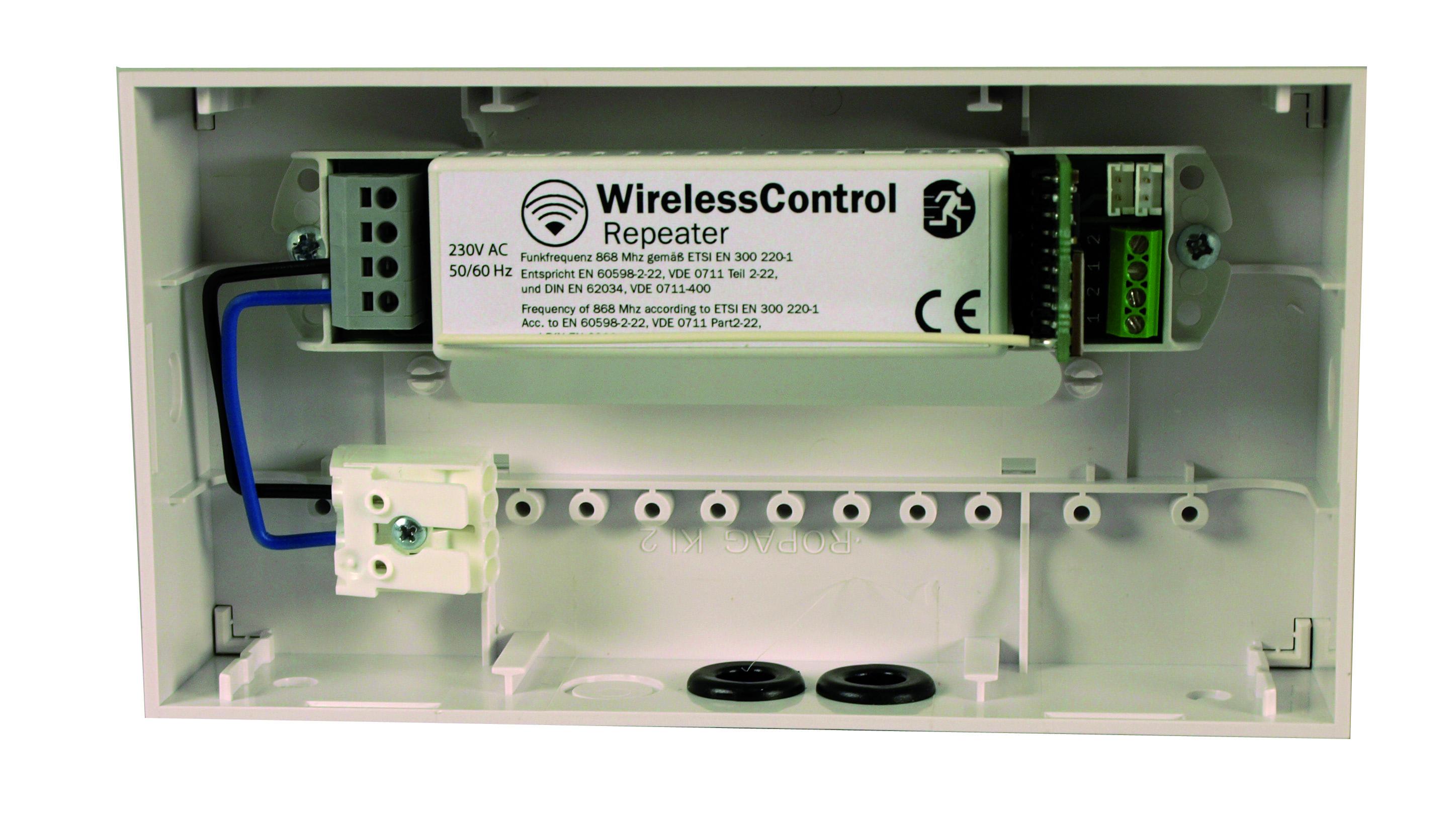 1 Stk Repeater für WirelessControl (230VAC) NLWLREP1--