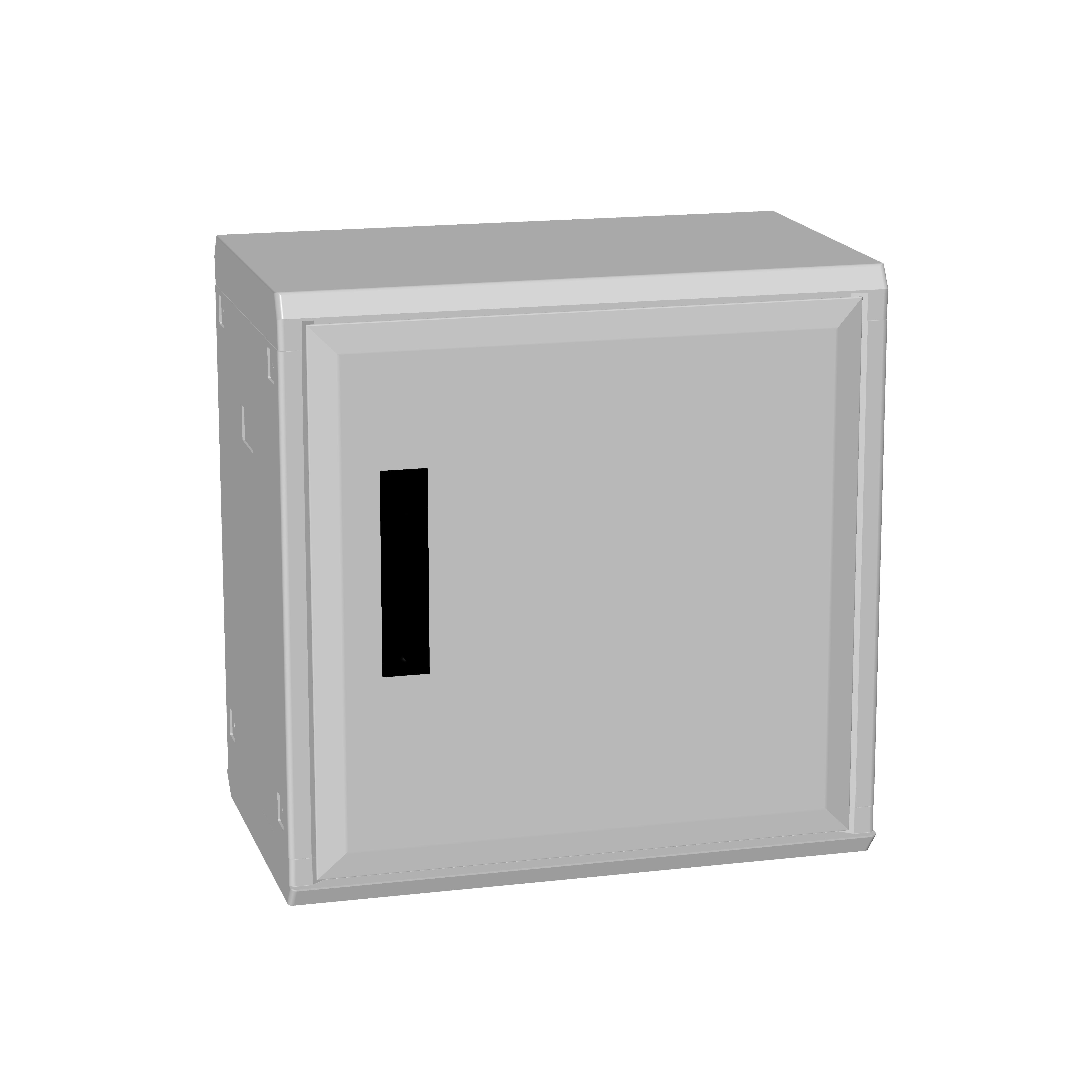 1 Stk Polyesterschrank, Boden offen, eintürig, 500x500x312 POCA2230--