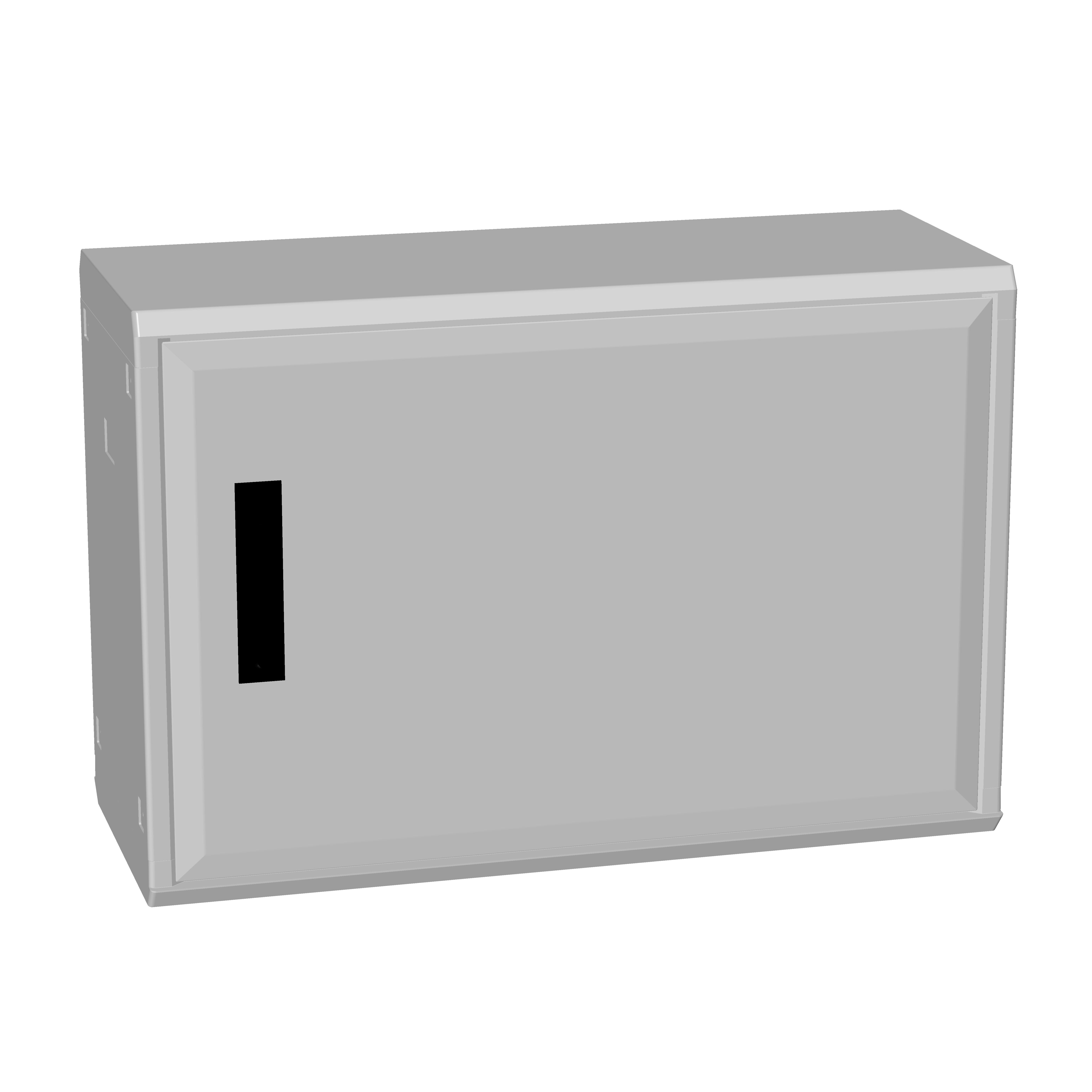 1 Stk Polyesterschrank, Boden offen, eintürig, 500x750x312 POCA2330--