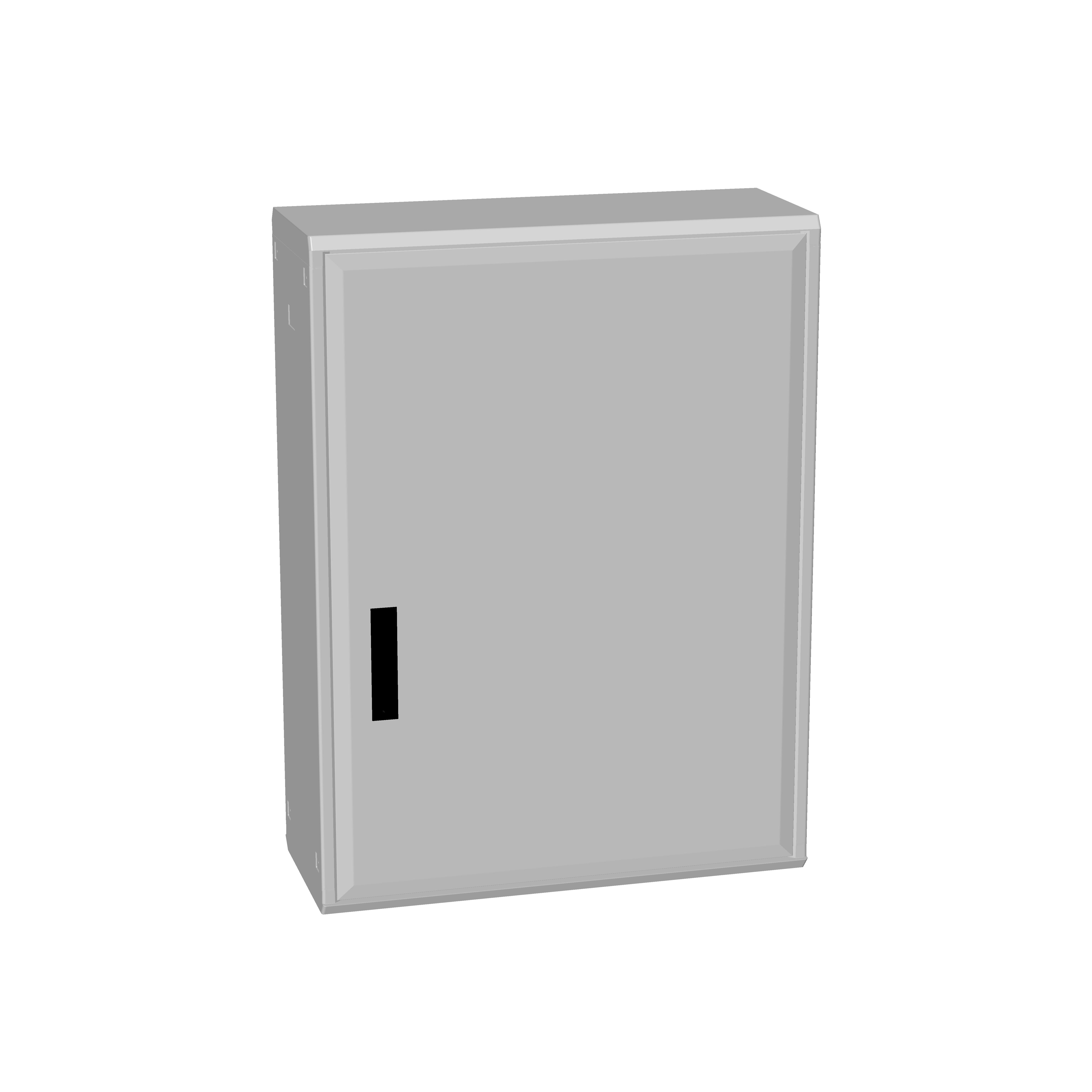 1 Stk Polyesterschrank, Boden offen, eintürig, 1000x750x312 POCA4330--