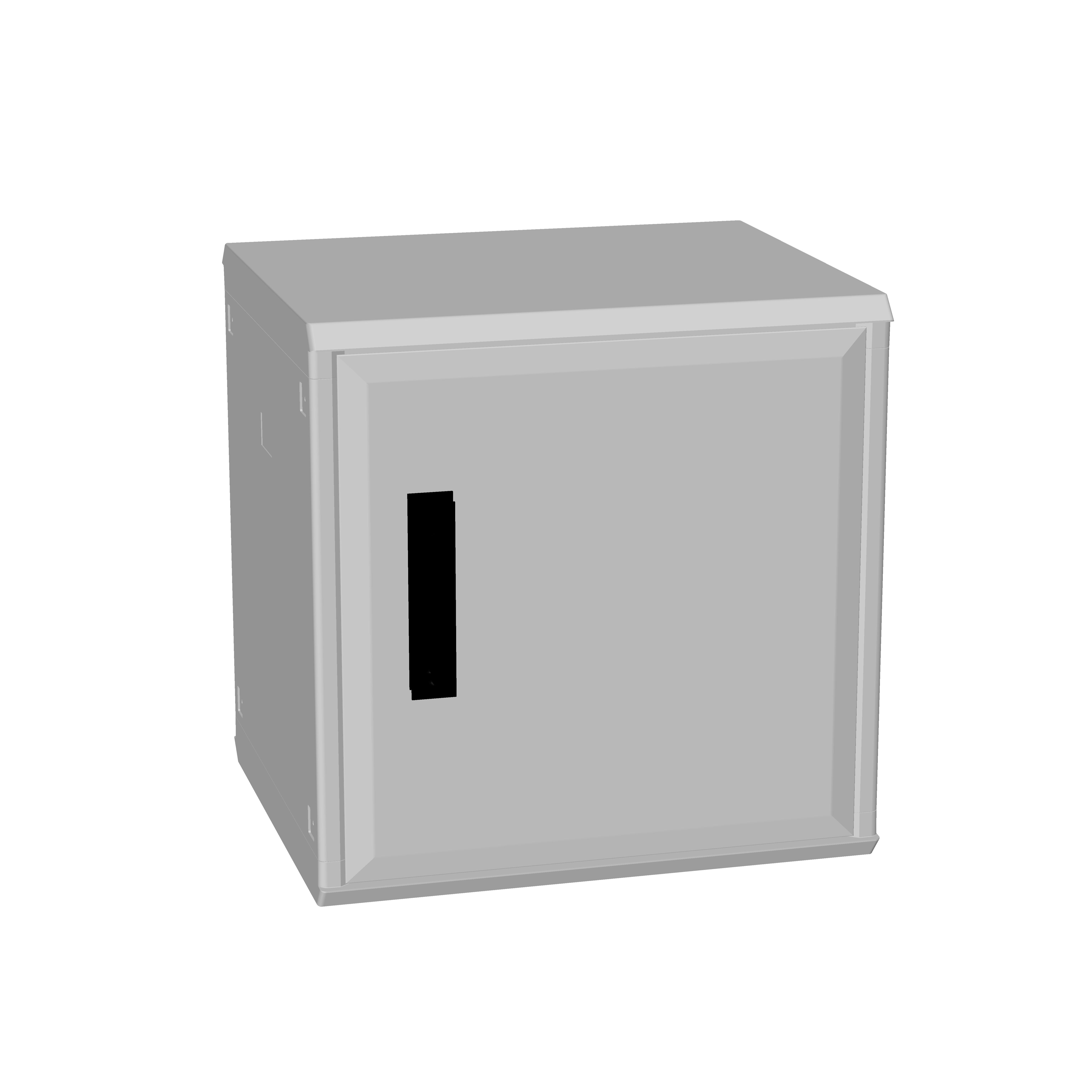 1 Stk Polyesterschrank, eintürig, 500x500x432 POCC2240--