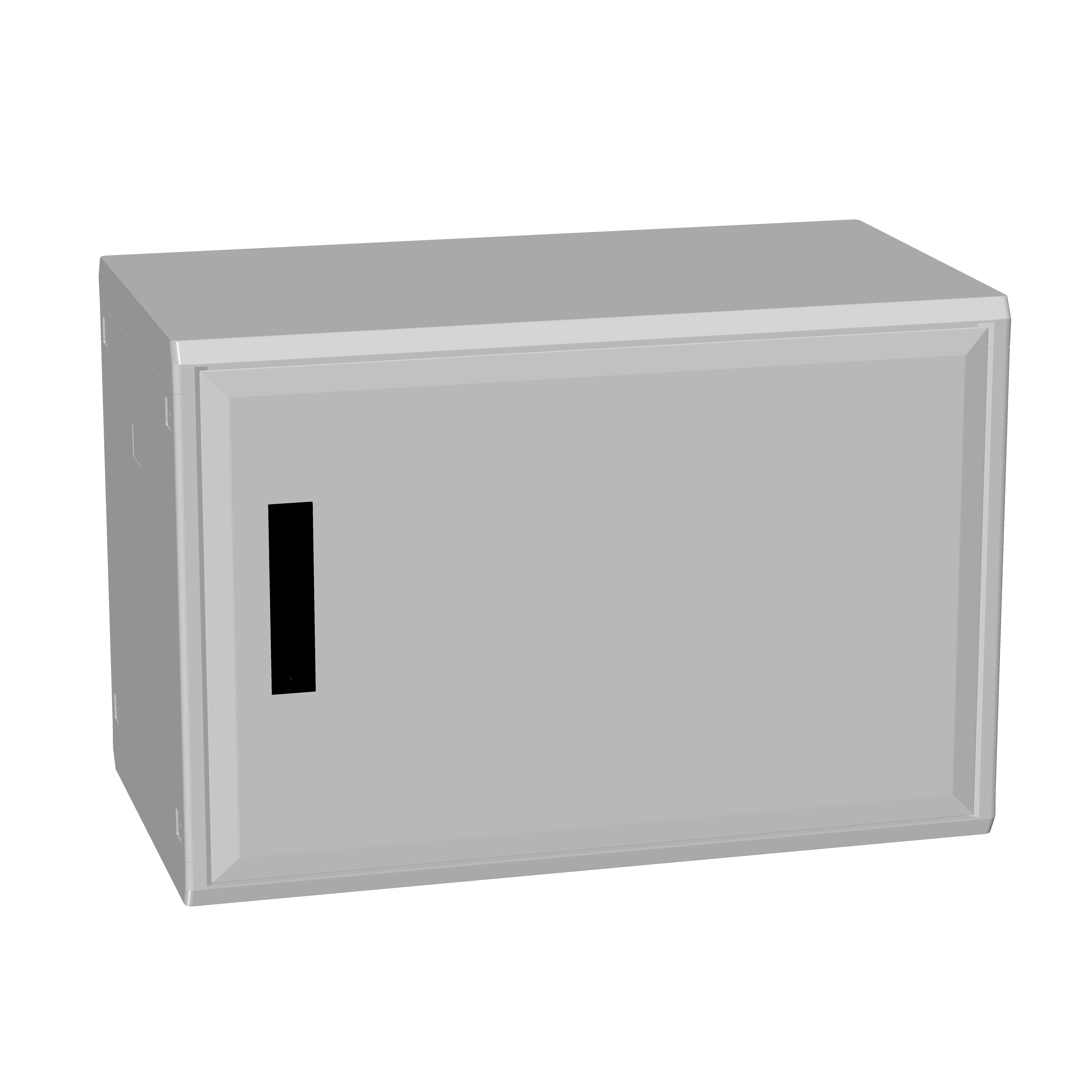 1 Stk Polyesterschrank, eintürig, 500x750x432 POCC2340--